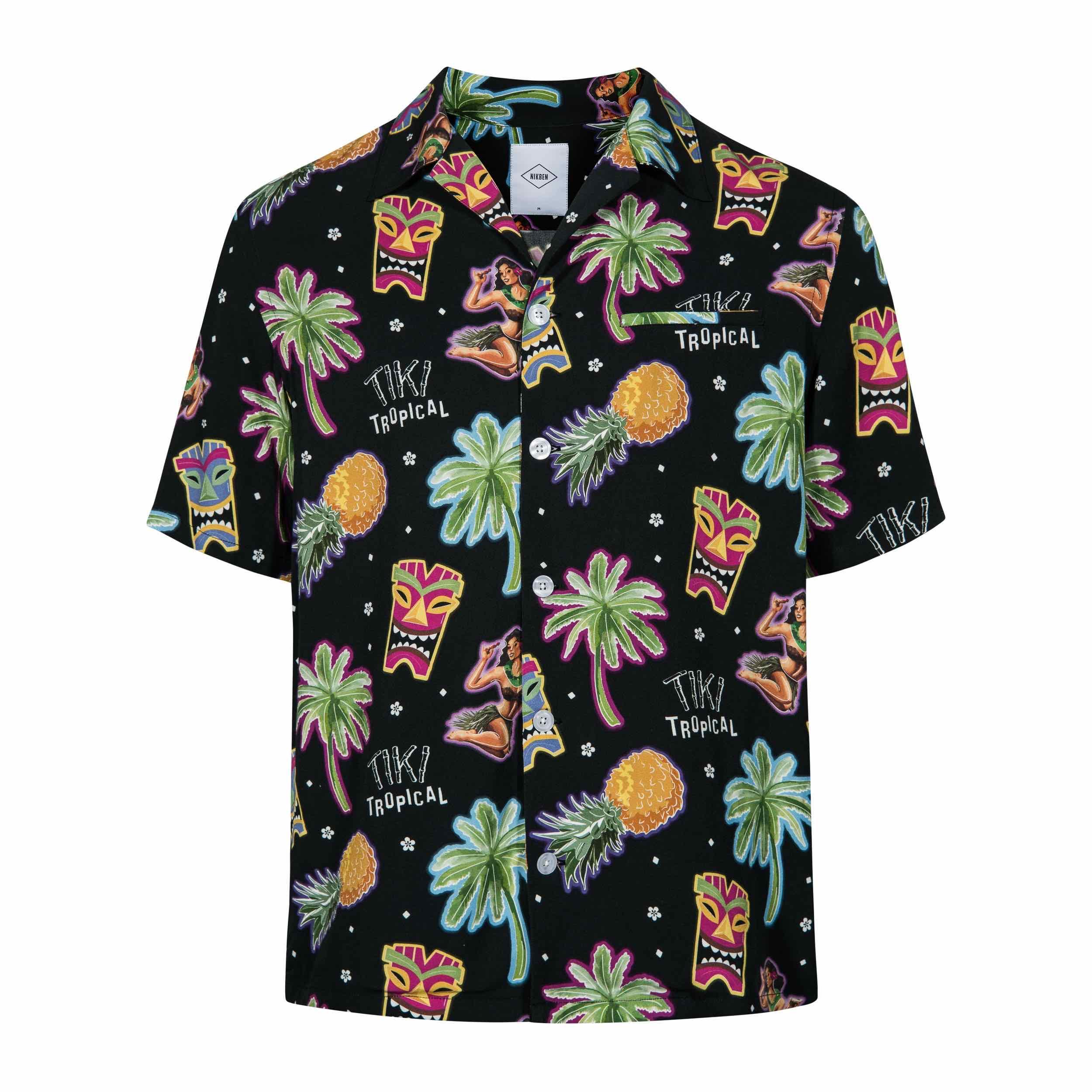 NIKBEN Resort Shirts Tiki