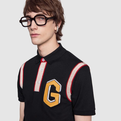 Pikétröja Gucci cotton polo shirt