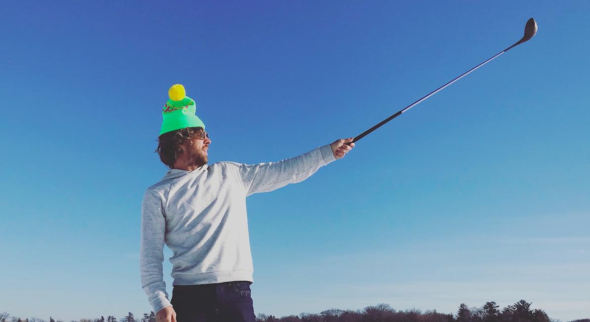 Elvine Urban Golf Tournament med Erik Anders Lang