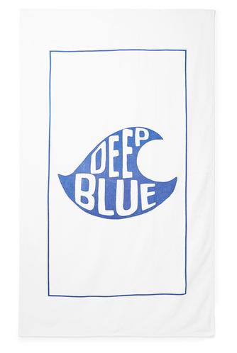 Handduk Deep Blue från Hartford