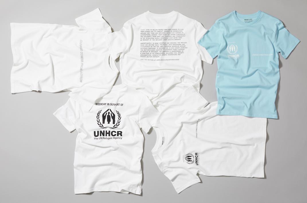Weekday x UNHCR i samarbete för World Refugee Day