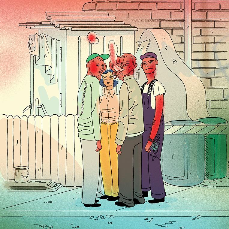Carhartt WIP x BRAIN DEAD Sammy_Harkham_Comic_01