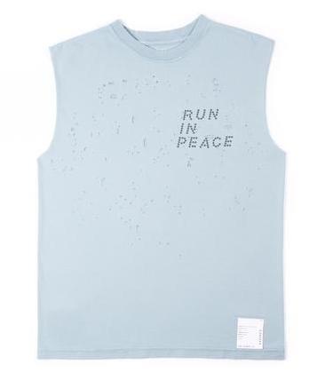 Satisfy Running Run in Peace muscle tee