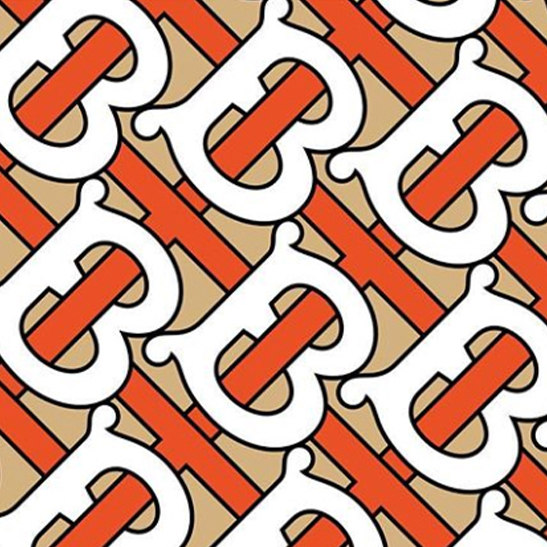 Burberrrys nya monogram square format
