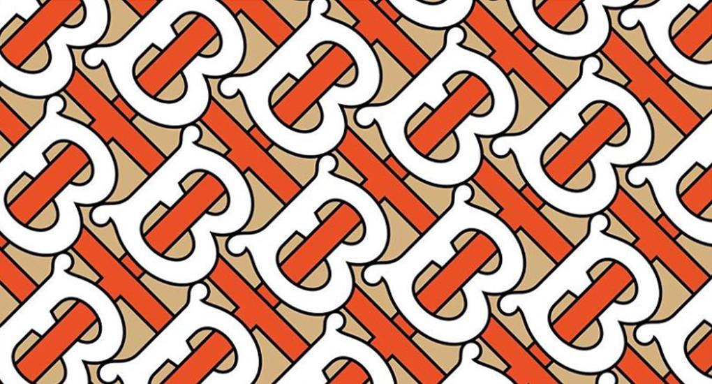 Här är Burberrys nya monogram ritat av Peter Saville