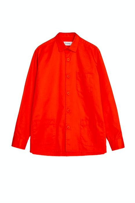 Schnayderman's AW18 Orange Over Shirt