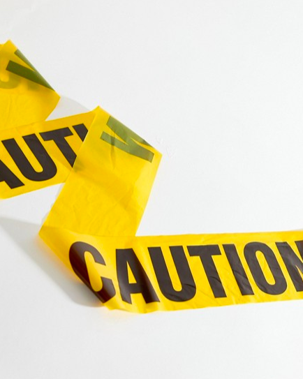 Halloween 2018 Caution Tape från ASOS
