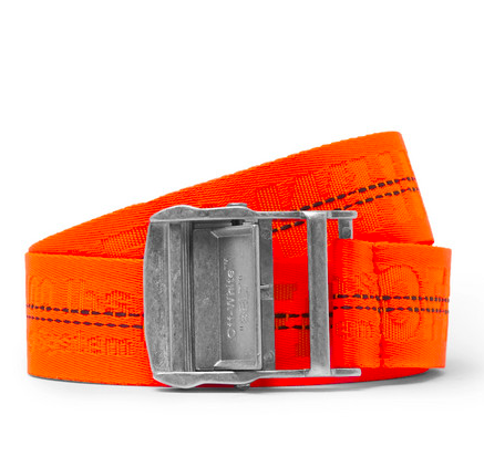 Halloween 2018 Off-White orange belt