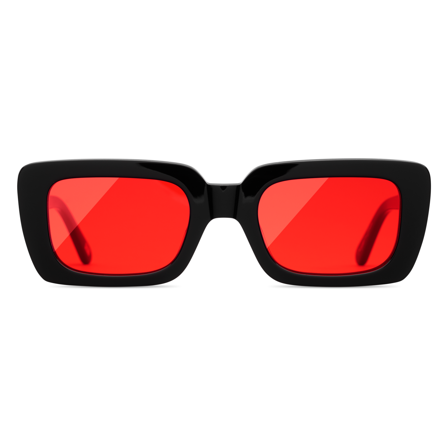 Chimi Laser Solid Red:Black Solglasögon