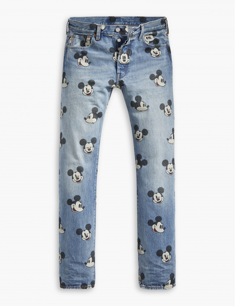 Levi's x Mickey Mouse 501
