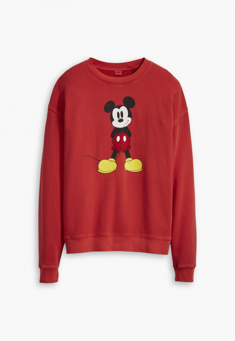 Levi's x Mickey Mouse Red Sweater