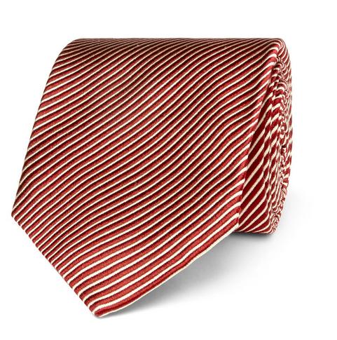 Snygga slipsar - randig slips silke från Tom Ford