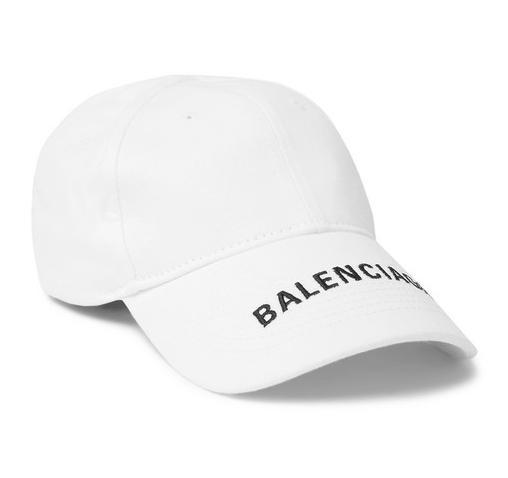 Stiltips - vit keps från Balenciaga