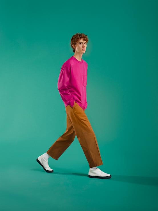 Uniqlo U av Christophe Lemaire rosa tröja