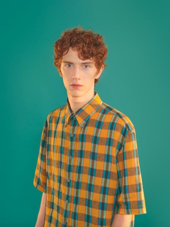 Uniqlo U av Christophe Lemaire rutig tröja