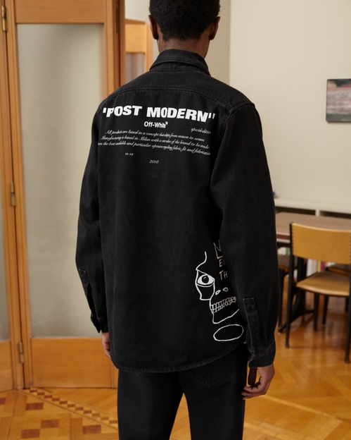 Off-White hyllar Jean-Michel Basquiat långärmad t-shirt