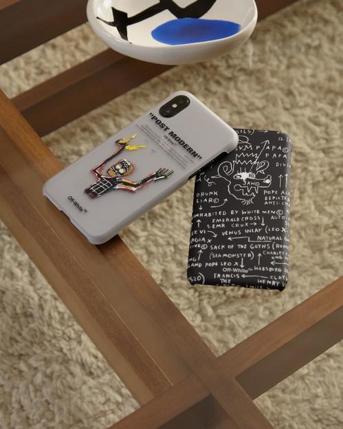 Off-White hyllar Jean-Michel Basquiat mobilskal