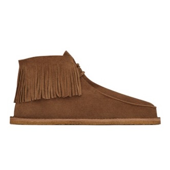 Saint Laurent Nino Fringed Shoe - mockasko med fransar