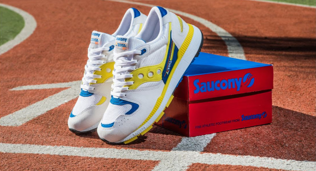 "Saucony Azura från 1988 återlanseras ""Dedicated to People Tired of Hype and Hot Air"""