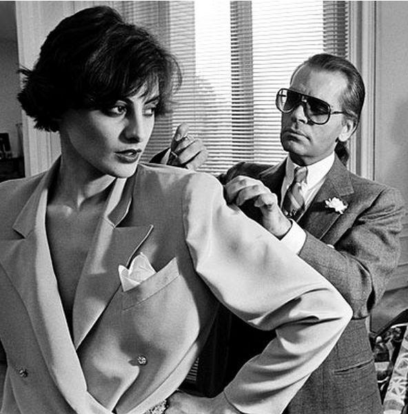 Karl Lagerfeld på Chloé
