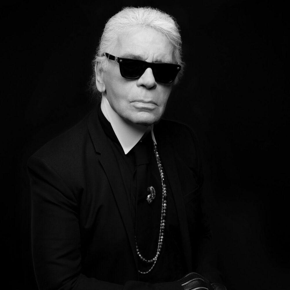Karl Lagerfeld självporträtt