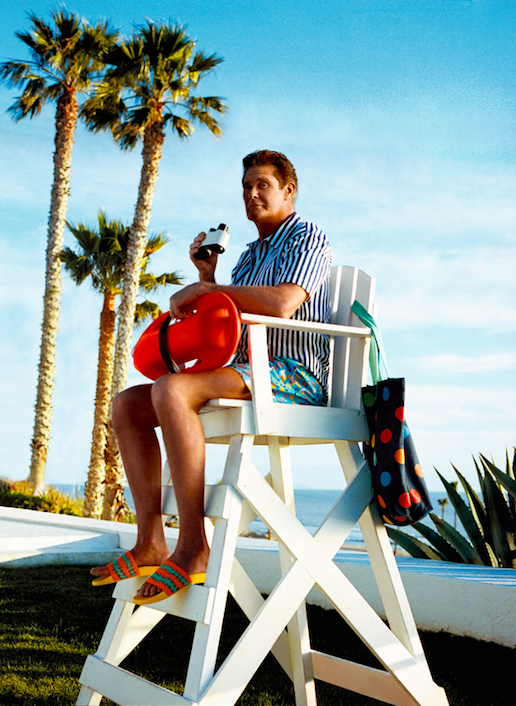 Happy Socks x David Hasselhoff Baywatch