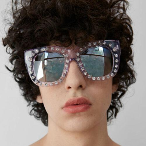 Acne Studios solglasögon man strass