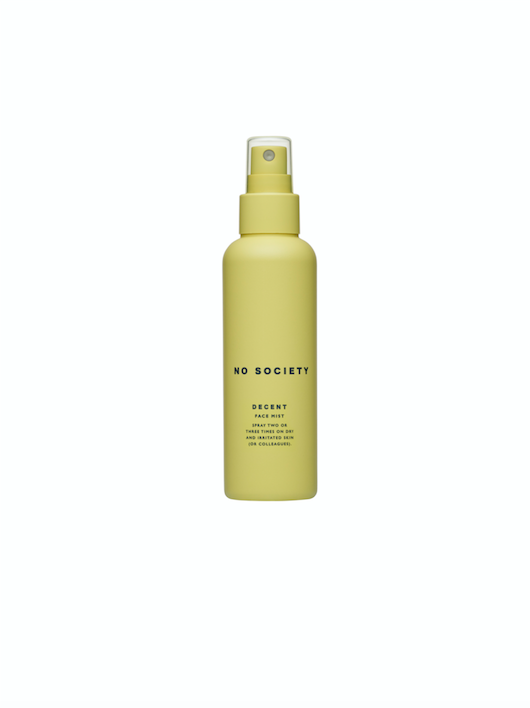 NO SOCIETY Decent Face Mist