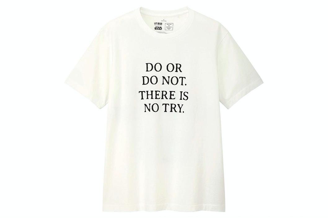 Uniqlo UT Star Wars white t-shirt