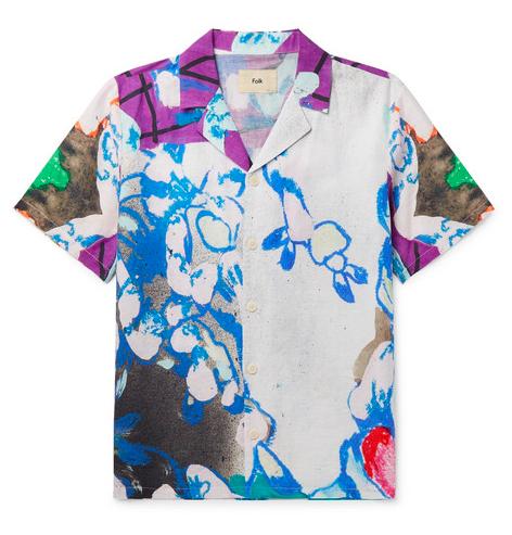 Badbyxor - Kortärmad skjorta från Folk
