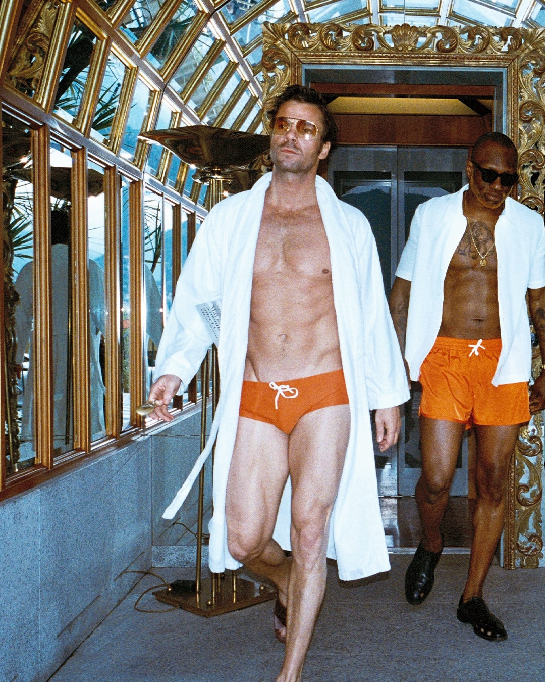 CDLP Concept Store Riva Swim Briefs Orange