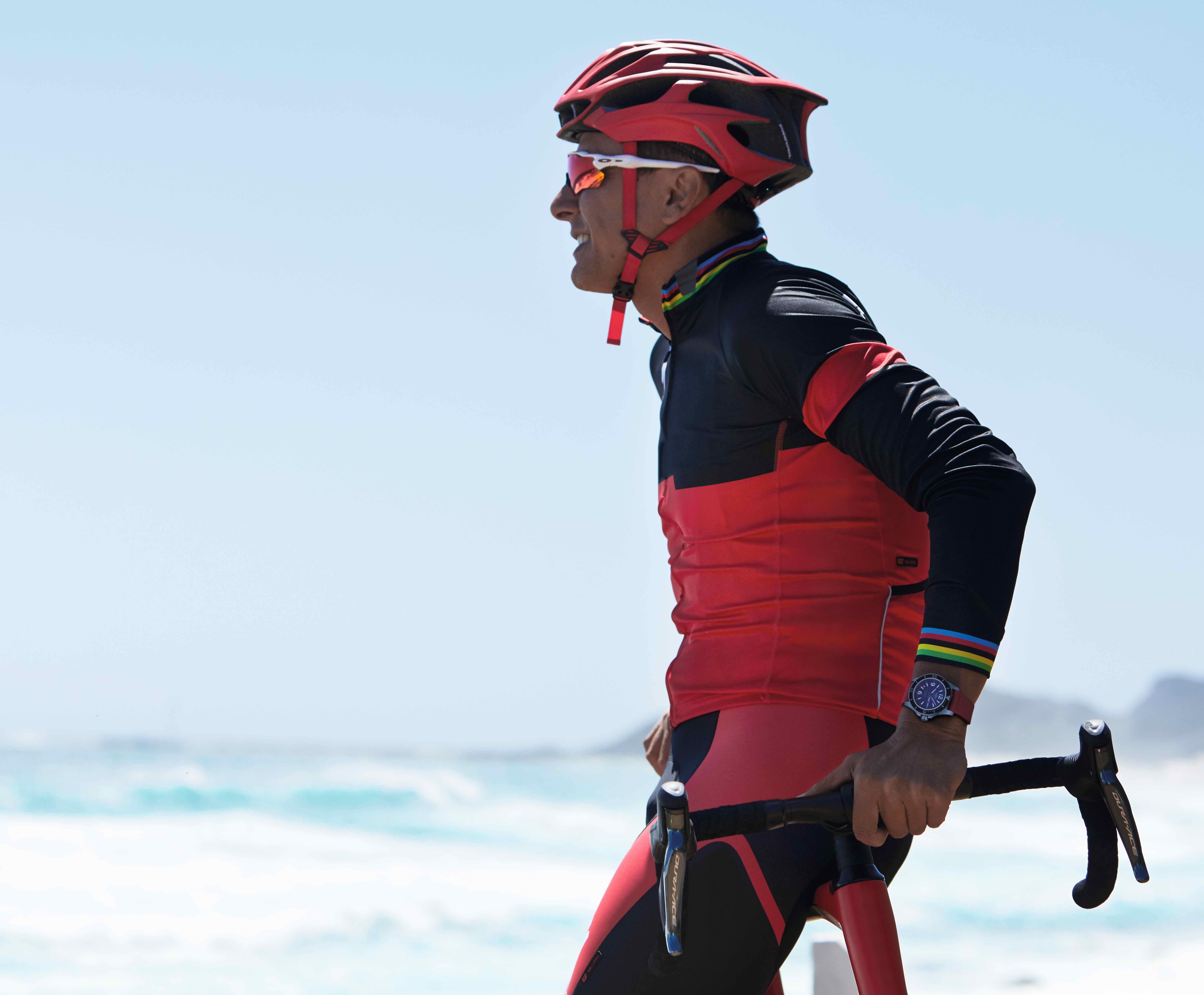 Breitling i samarbete med Ironman Chris Mccromack