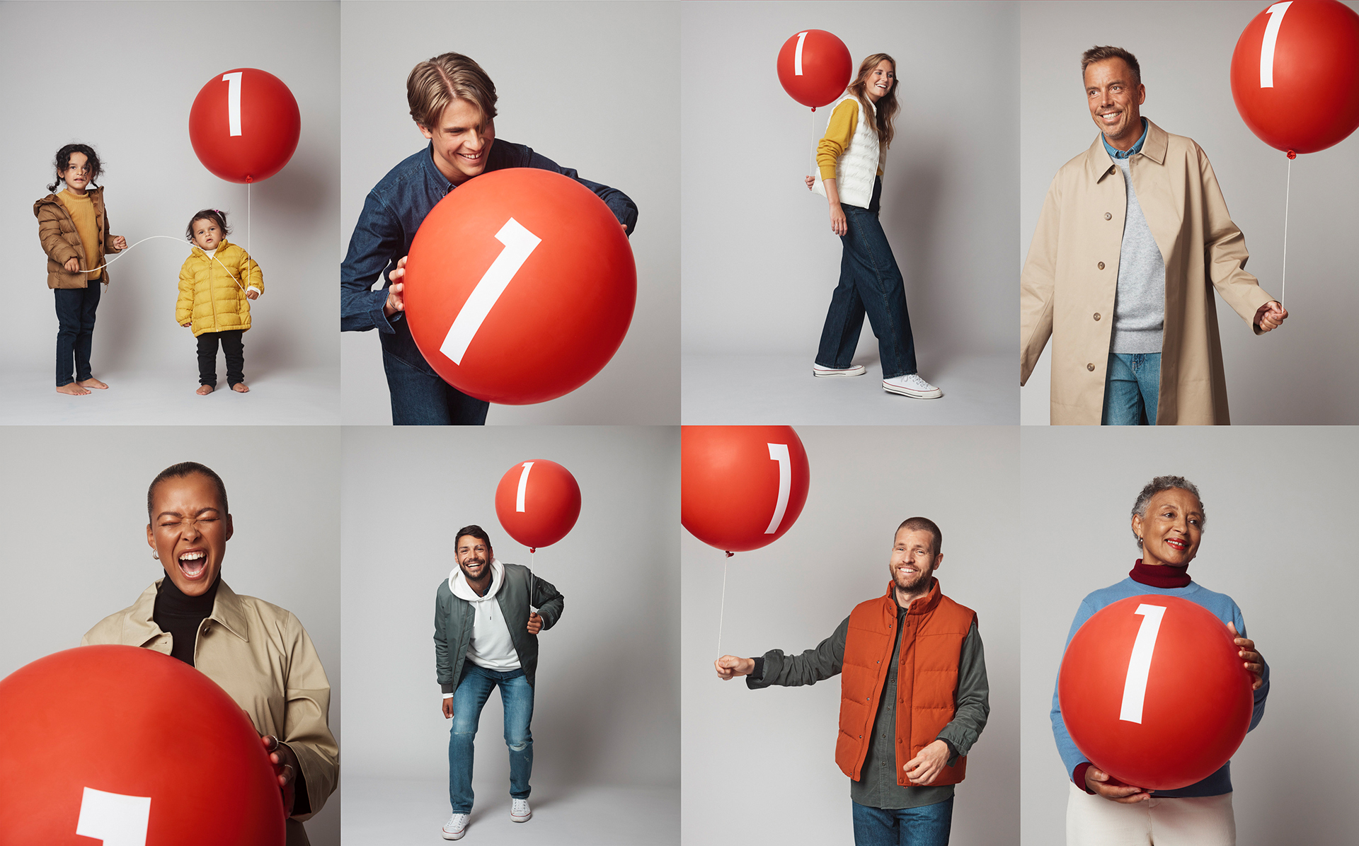 UNIQLO firar 1 år i Sverige med kampanjen Thank U