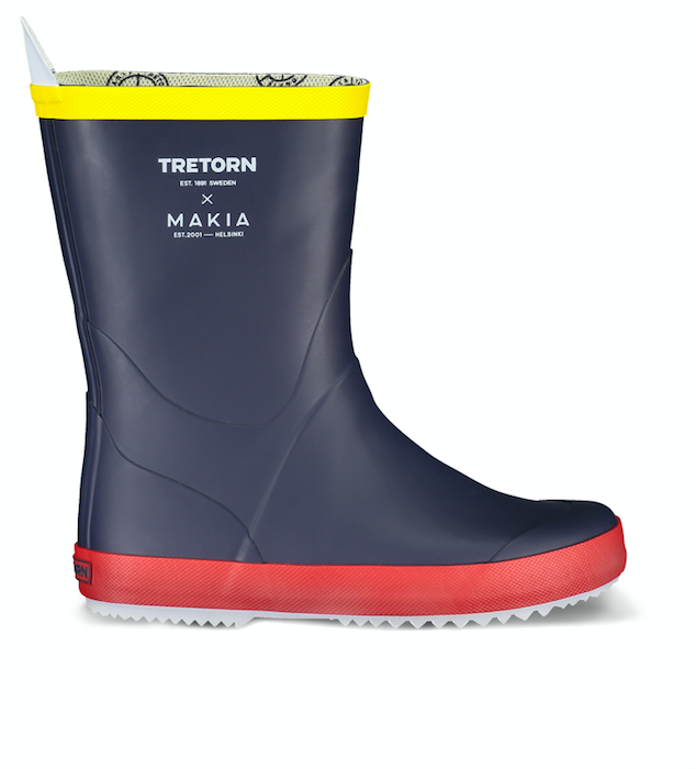 Tretorn x Makia Wings rain boots