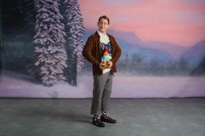 Macaulay Culkin i jultröja