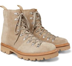 Julklapp Beige Brady Suede Boots från Grenson
