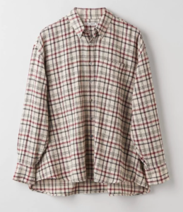 Julklapp Our Legacy Borrowed BD Shirt Red Check