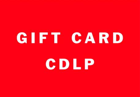 Julklapp - Presentkort CDLP