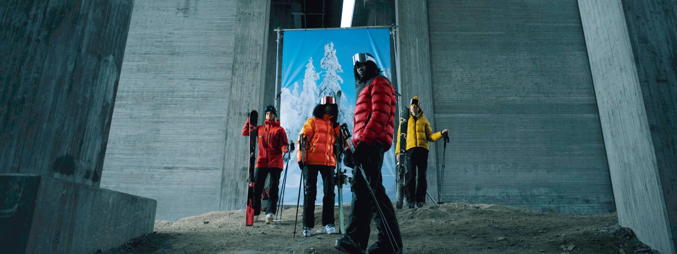 Skidkläder för en snyggare skidresa
