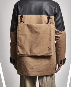 En jacka med inbygd ryggsäck från Didriksons