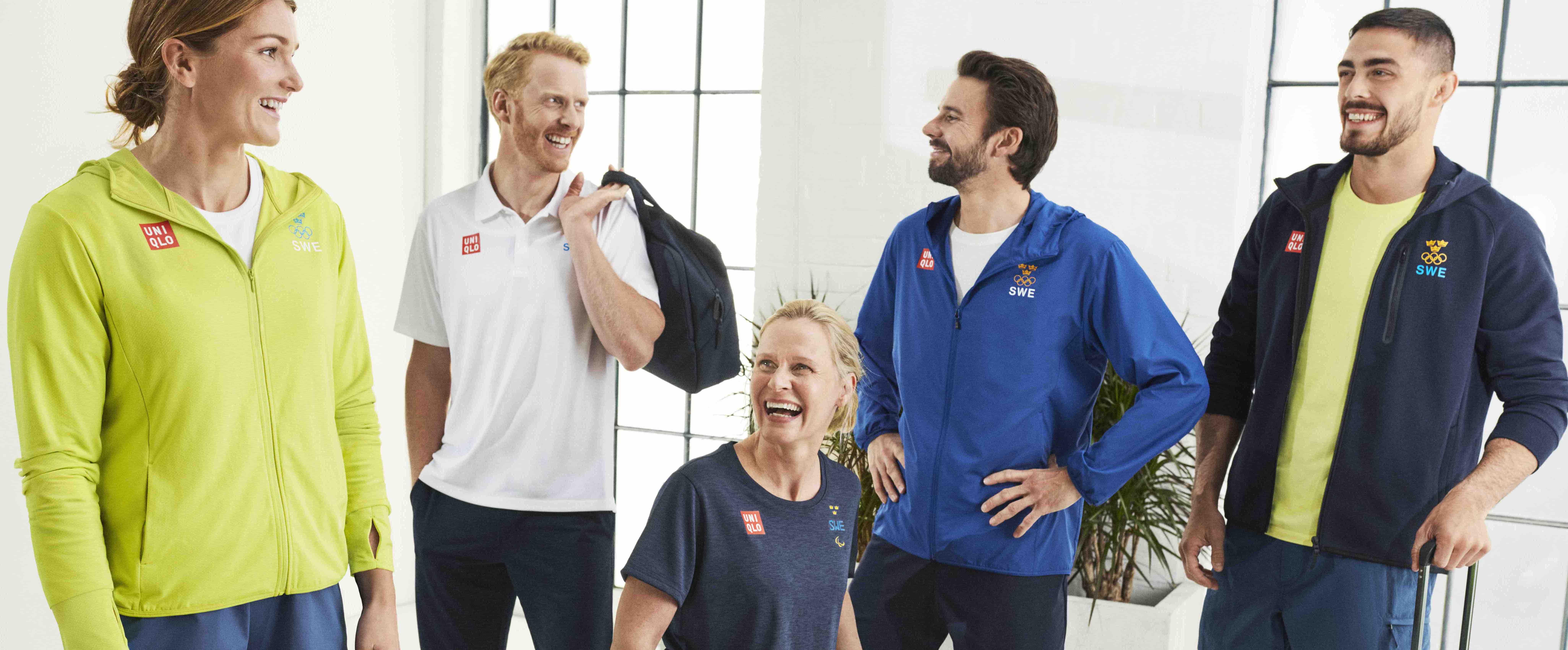 Uniqlo släpper en olympisk och paralympisk kollektion exklusivt för Sverige