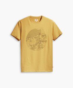 Levis' Wellthread gul t-shirt