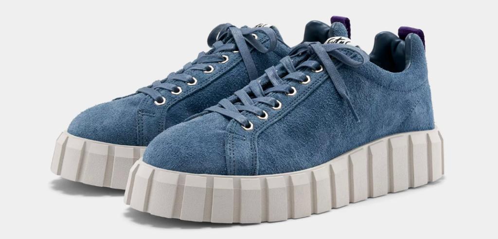 Vårmode - Sneakers Eytys Odessa i ljusblå mocka