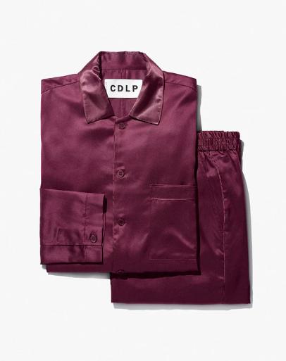 CDLP Home Suit Long Burgundy
