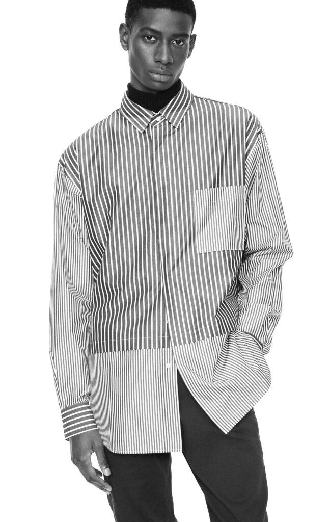 Uniqlo +J Skjorta med paneler