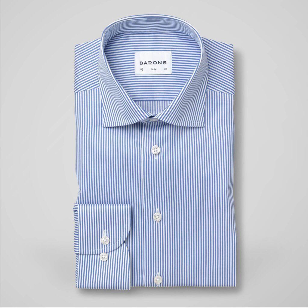 Barons skjorta randig
