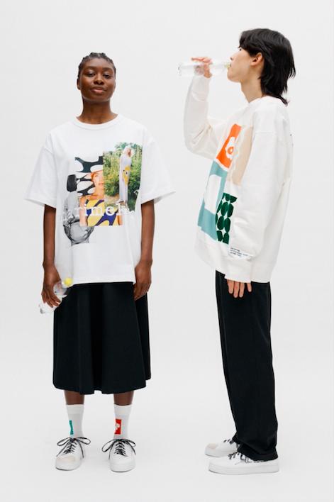 Marimekko co-created vit t-shirt