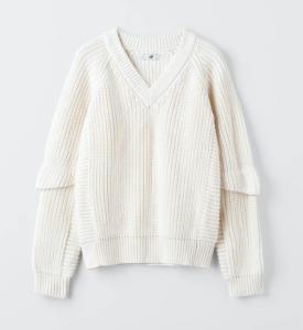 Eytys Kore Alabaster Sweater Stickad tröja