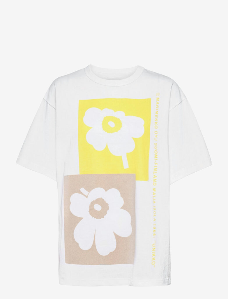Marmimekko Ohje Unikko t-shirt Marimekko Co-created