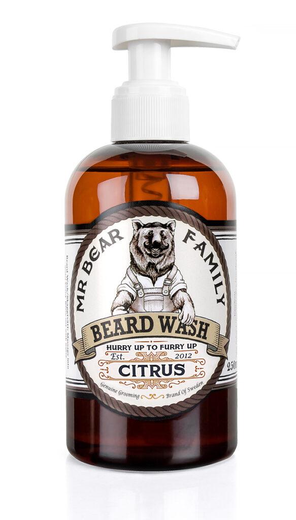 Mr Bear Family - Beard wash citrus